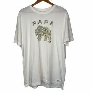 LIFE IS GOOD Papa Bear Crusher Tee